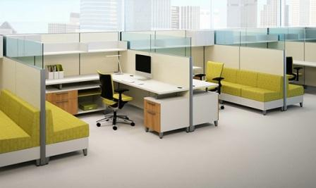 Used New Cubicles Systems Office Furniture