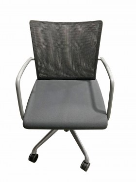 Black Visita Guest Chair By Dauphin