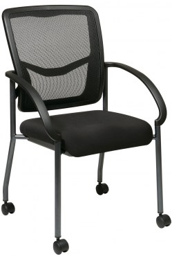 ProGrid Back Guest Chair with Castors