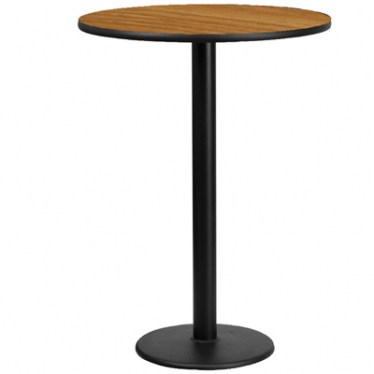 30 x 30 Round Bar Height Table with Round Base by Space Seating
