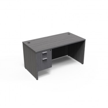 24inx48in Kai Samoa Gray Student Desk
