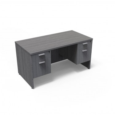 30inx60in Kai Samoa Gray Desk