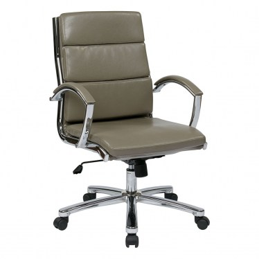 Smoke Mid Back Executive Chair by Space Seating