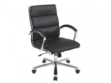 Black Mid Back Executive Chair by Space Seating