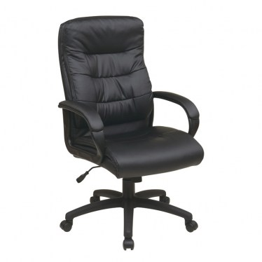 High Back Faux Leather Chair by Space Seating