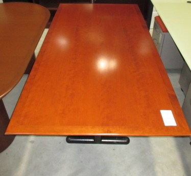 36″ x 72″ Geiger Rectangular Table with Wood Laminate