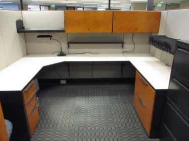 Haworth Premise Enhanced 6x6 or 9x9 cubicle 1