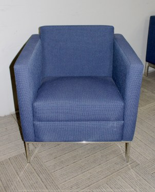 Cumberland Navy Blue Lounge Chairs