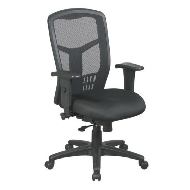 ProGrid High-Back Black Managers Chair by Space Seating