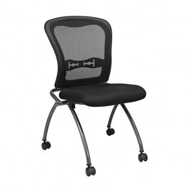 Armless ProGrid Back Nesting Chair by Space Seating