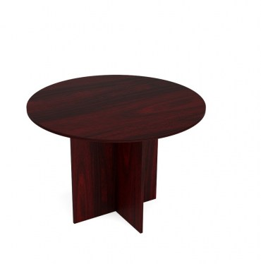 48in Kai Mahogany Round Table