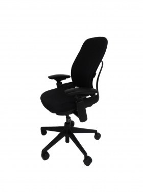 Leap Black Fabric Office Chair By Steelcase