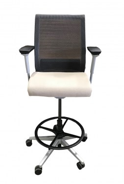 Think Steelcase Used Drafting Stool