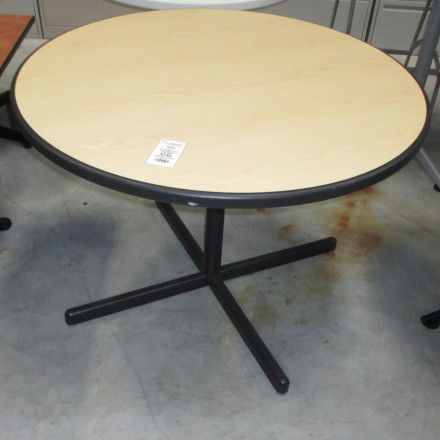 Round 42 Tan with black trim table 1